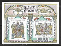 55 France F4943 Grandes Heures De L'histoire De France Charlemagne N++ - Neufs
