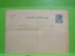 MONACO Prince Louis II 1927 Entier Postal 40 Centimes - Postal Stationery
