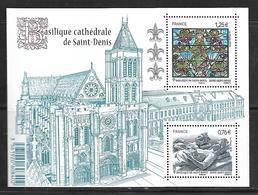 57 France F4930 Basilique Cathédrale De Saint-Denis N++ - Blocs & Feuillets