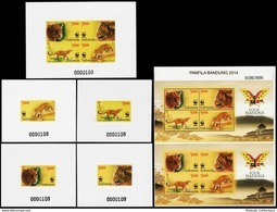 Indonesia Fanfila Bandung 2014, WWF - Four Nations Stampshow - Indonesien