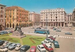 CITROEN DS 21-23-AUTO-CAR-VOITURES-COCHE-SAVONA-ITALY-CARTOLINA VERA FOTOGRAFIA  VIAGGIATA IL 15-1-1981 - Turismo