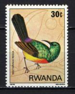 RWANDA - 1979 - NECTARINIA REGIA - MNH - Rwanda