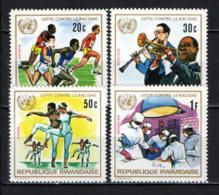 RWANDA - 1972 - LOTTA CONTRO IL RAZZISMO - MNH - Rwanda