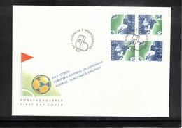 Sweden 1992 European Football Championship FDC - UEFA European Championship