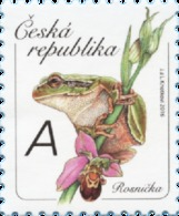 ** 902 Czech Republic Tree Frog 2016 Bee Orchid - Orchideen