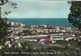 STADIO-STADE-STADIUM-ESTADIO-CAMPO SPORTIVO-SOCCER-LEGINO-SAVONA-ITALY-CARTOLINA VIAGGIATA IL 6-11-1960 - Fútbol