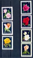 077 Hongrie (Hungary) MNH ** N° 2806 / 2812 Fleurs (fleur Flower Flowers) ROSES COTE 6 Euros - Roses