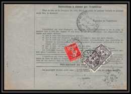25044 Bulletin D'expédition France Colis Postaux Fiscal Haut Rhin - 1927  ST LOUIS Merson 206 Alsace-Lorraine - Colis Postaux