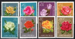 ALBANIA - 1967 - Various Roses In Natural Colors - USATI - Albanie