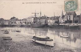 CPA/ Le Pouliguen (44) Vue Du Port  Quais  Bateaux  Usona IV     Ed Vasselier - Le Pouliguen