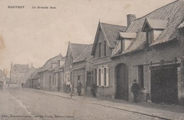 ROUVROY  62 ( LA GRANDE RUE  ) 1912 - Altri Comuni