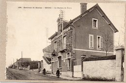 78 - EPONE - LE BUREAU DE POSTE - ANIMEE - 1908 - Epone