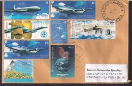 Argentina - 2019 - Aviation Commerciale - Avions - Timbre Diverse - Argentinien