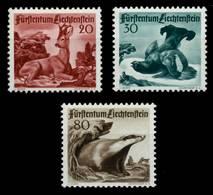 LIECHTENSTEIN 1950 Nr 285-287 Postfrisch X6A8C22 - Liechtenstein