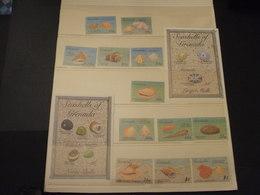 GRENADA - 1993 CONCHIGLIE 12 VALORI + 2 BF - NUOVI(++) - Grenada (1974-...)