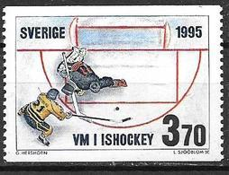 Suède 1995 N°1863 Neuf Hockey Sur Glace - Ongebruikt