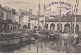 DESENZANO-BRESCIA-LAGO DI GARDA-IL PORTO -BELLISSIMA CARTOLINA VIAGGIATA IL 28-4-1923 - Brescia