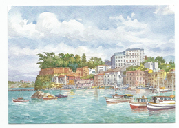 Sorrento - Marina Grande Da Un Acquarello Di G.Ospitali - Navi - Porti. - Illustratori & Fotografie