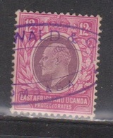 EAST AFRICA & UGANDA Scott # 35 Used - KEVII - Protettorati De Africa Orientale E Uganda