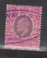 EAST AFRICA & UGANDA Scott # 35 Used - KEVII - Protectorados De África Oriental Y Uganda