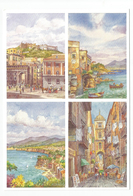 Napoli E Sorrento - Da Acquarelli Di G.Ospitali - Vedutiine. - Illustratori & Fotografie