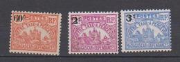 MADAGASCAR         N°  YVERT   TAXE 17/19  NEUF SANS CHARNIERE      ( Nsch 02/12 ) - Madagascar (1889-1960)