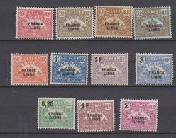 MADAGASCAR         N°  YVERT   TAXE 20/30 NEUF SANS CHARNIERE      ( Nsch 02/12 ) - Madagascar (1889-1960)