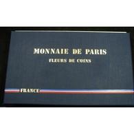 SERIE Fleurs De Coins FDC 1988 - Francia