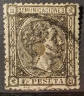 SPAIN 1875 - Canceled - Sc# 219 - 1Pta - 1875-1882 Königreich: Alphonse XII.