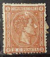 SPAIN 1875 - MH - Sc# 212 - 2c - Ungebraucht
