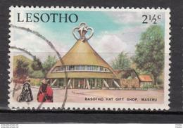 ##1, Lesotho, Sc 86, Magasin De Chapeau, Hat Gift Shop, Architecture - Lesotho (1966-...)