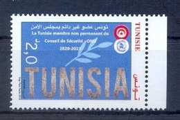 2019- Tunisia - Tunisia, Non-permanent Member Of The United Nations Security Council (2020-2021) - Complete Set 1v.MNH** - Tunisie (1956-...)