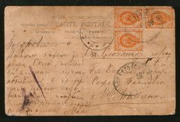 Russia 1908 Railway Postmark TPO # 174 Elenovka - Konstantinovka, Rare ! - Covers & Documents