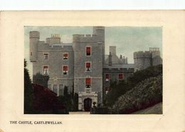 Castlewellan The Castle Front View Postcard - Northern Ireland