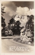 South Dakota Mount Rushmore Shrine Of Democracy 1946 Real Photo - Mount Rushmore