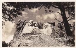 South Dakota Mount Rushmore 1939 Real Photo - Mount Rushmore