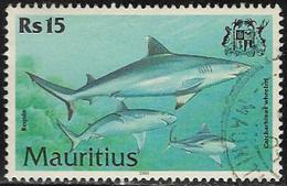 Mauritius SG1041 2000 Fish 15r Good/fine Used [7/8640/1D] - Mauritius (1968-...)