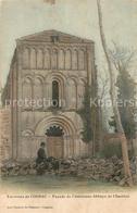Kq83487 Cognac_Charente Facade De L Ancienne Abbaye De Chatres - Francia