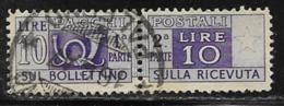 Italy Scott # Q68 Used Parcel Post Stamp, 1946 - 6. 1946-.. Republic