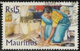 Mauritius SG1113 2004 Traditional Trades 15r Good/fine Used [40/32929/1D] - Mauritius (1968-...)