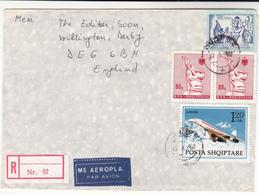 Albania / Airmail / Concorde - Albania