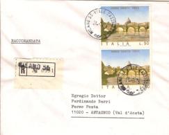 """(St.Post.).Repubblica.1975.""""Anno Santo"""".Raccomandata In Tariffa Nell'unico Giorno D'uso (111-19) - 6. 1946-.. Republik"""