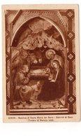ITALIE - SIENA - Basilica Di Santa Maria Del Seri - Natività Dy Gesù (Taddeo Di Bartolo 1404) (J40) - Siena