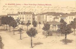 Roanne (Loire) Place Victor-Hugo (Faubourg Mulsant) Kiosque à Musique - Carte N° 10 - Roanne