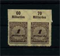 DEUTSCHES REICH 1923 Nr 325B Postfrisch (111587) - Deutschland