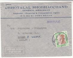 Sudan / Airmail / Germany - Sudan (1954-...)