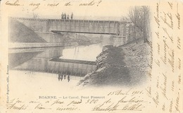 Roanne (Loire) Le Canal, Pont Pisserot - Editions Victor Baptiste - Carte Animée Dos Simple - Roanne