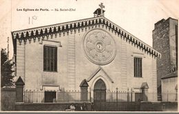 75 LES EGLISES DE PARIS N° 84 SAINT-ELOI - Churches