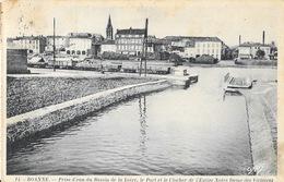 Roanne - Prise D'eau Du Bassin De La Loire, Le Port Et Le Clocher De L'Eglise Notre Dame Des Victoires - Gaby N° 14 - Roanne