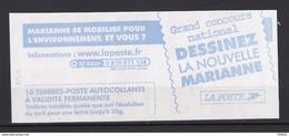 Carnets Marianne Du 14 Juillet ,N° 3419 C 13, 10 Timbres - Carnets